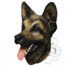 Latex German Sheperd Dog Mask