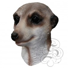 Latex Meerkat Mask