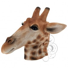 Latex Giraffe Mask