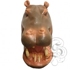 Latex Realistic Hippo Mask
