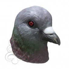Latex Pigeon Bird Mask