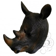 Latex Rhino Mask