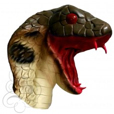 Latex Snake Mask (Open Mouth)
