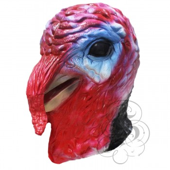 Latex Turkey Bird Mask (Realistic)