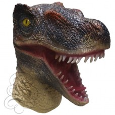 Latex Velociraptor Dinosaur Mask