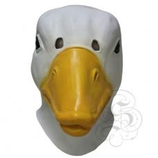 Latex Duck Mask (White)