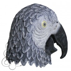 Latex African Parrot Mask