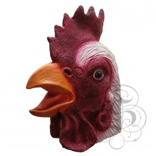 Latex Rooster Mask