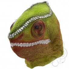 Latex Chameleon Lizard Mask