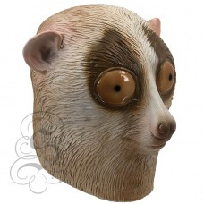 Latex Loris Monkey Mask