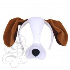 Dog Plush Mask