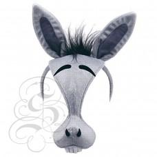 Donkey Plush Mask