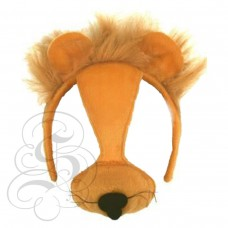 Lion Plush Mask (With Sound)