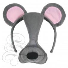 Mouse Plush Mask