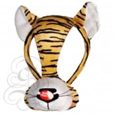 Tiger Plush Mask
